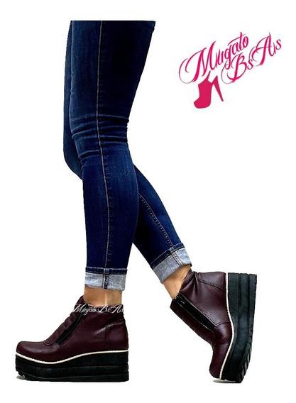 Zapatos Mujer Boquita De Pez Botas Botinetas Borcegos Texanas Charritos Cuero