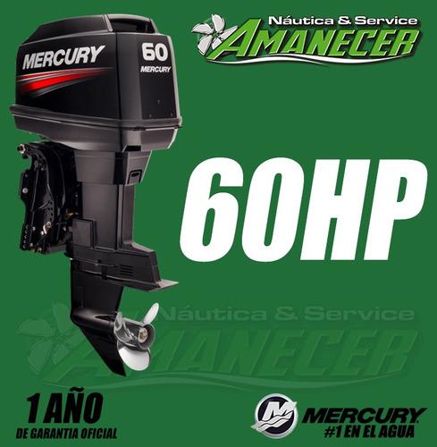Motor Fuera De Borda Mercury 60 Hp Elpto 2t