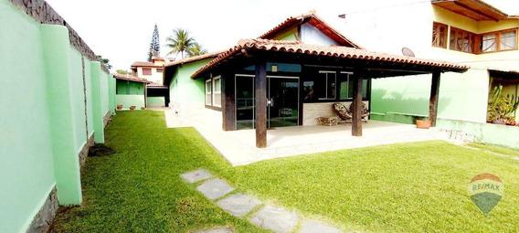 Casa Com 4 Dormitórios À Venda, 215 M² Por R$ 599.000 - Poço Fundo - São Pedro Da Aldeia/rio De Janeiro - Ca1565