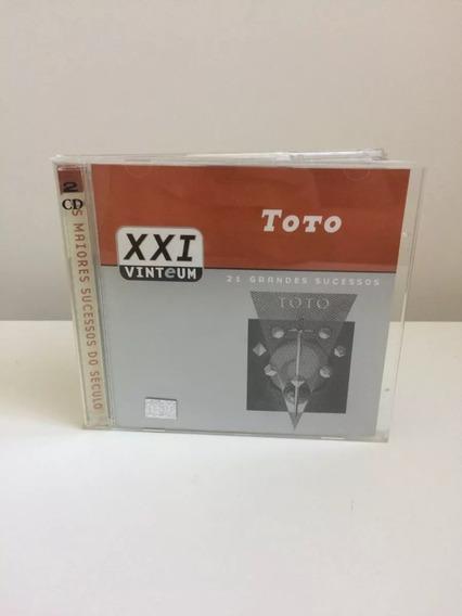 Cd Toto - 21 Grandes Sucessos (duplo)