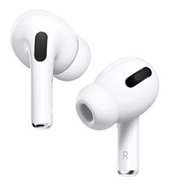 Fone De Ouvido Sem Fio Apple AirPods Pro - Mwp22be/a
