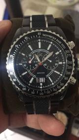 Relógio Guess Colection Aço Preto 46001g2