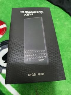 Blackberry Key 2 6gb Ram 64gb Preto Estado De Novo