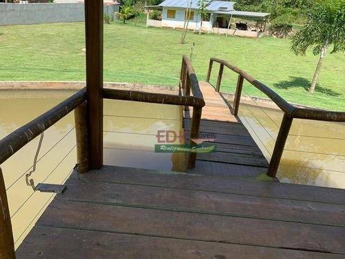 Imagem 1 de 6 de Chácara Com 2 Dormitórios À Venda, 5600 M² Por R$ 750.000,00 - Freitas - São José Dos Campos/sp - Ch0633