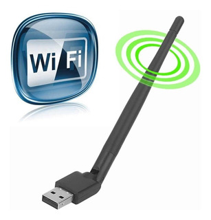 Adaptador Usb 2.0 Antena Wifi 802.11n Wireless 150mbps