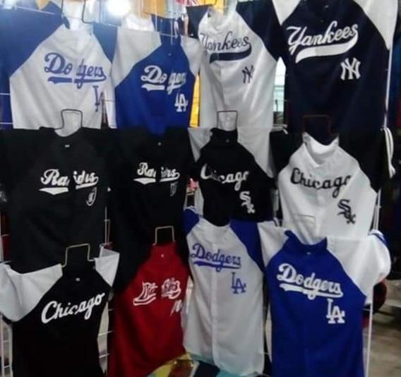 Camisolas De Béisbol Diferentes Equipos Manejamos Mayoreo
