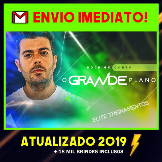 O Grande Plano 2019 - Rodrigo Cohen + Brindes