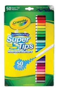 Oferta 50 Marcadores Supertips Marca Crayola Envío Gratis