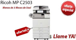Copiadora Impresora Ricoh Mpc 2003/ Mpc2503 Entrega Inmedia