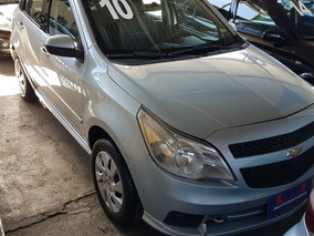 Chevrolet - Agile Lt 1.4 - 2010 - Prata