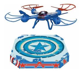 Quadricóptero Filme Capitao America 2,4ghz 6 Eixos 360° Rot