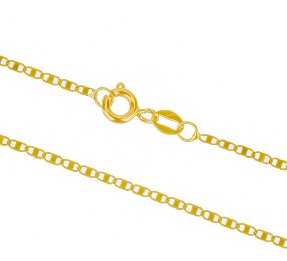 Corrente Piastrine 50cm Ouro 18k