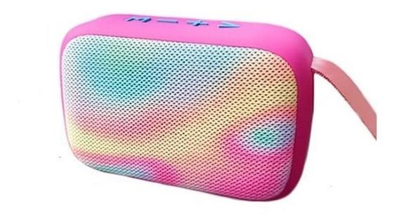 Caixa De Som Bluetooth 5w (rms) Portátil Exbom