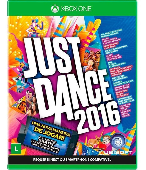Just Dance 2016 (mídia Fisica) - Xbox One (novo)