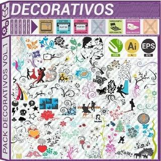Pack Vectores Vinilos Decorativos Viniles Plotter Paredes