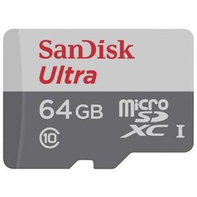 2 Cartao De Memoria Sandisk Micro Sdhc 64gb 82mbs Classe 10