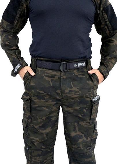 Calça Tática Militar Ripstop Multicam Black Tactical Dacs