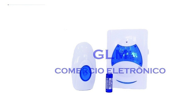 Campainha Sem Fio Wireless