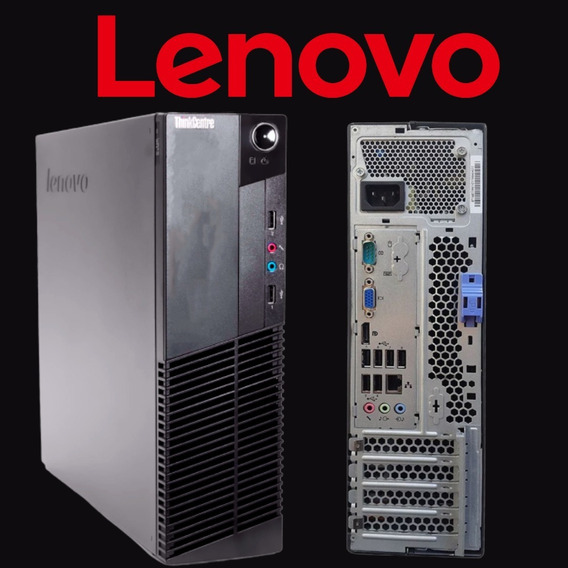 Desktop Lenovo M91p Intel I5 Ddr3 4gb Hd 500gb + Mega Brinde