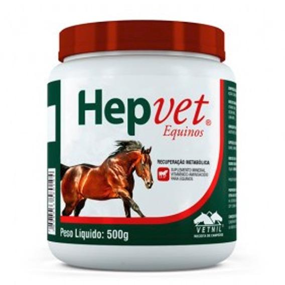 Hepvet Equinos 500g - Recuperação Metabólica - Vetnil