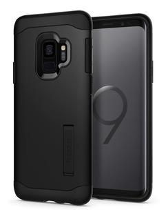 Capa Case Spigen | Samsung Galaxy S9 5.8 | Slim Armor Black