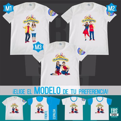 Camiseta Camisa Niño Playground Personalizada Algodon