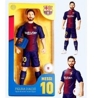 Messi Muñeco Articulado Futbol 33 Cm