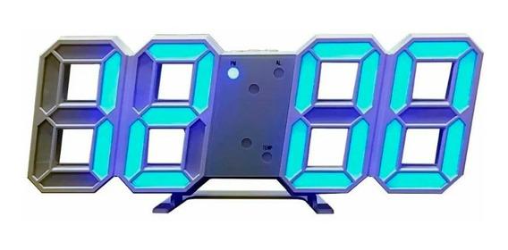 Reloj Despertador Digital Led Tipo Cronómetro Minimalista