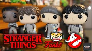 Funko Pop Stranger Things Will Ghostbuster Original