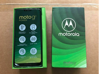 Motorola G7 Power Nuevos De Paquete + 2 Meses De Garantía