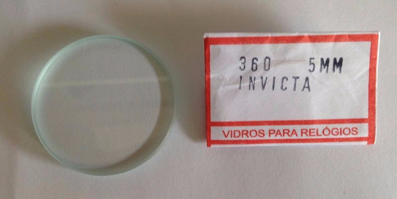 Vidro Invicta Pro Driver Cristal Grosso 5mm