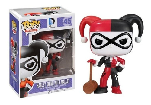 Funko Pop! Harley Quinn With Mallet 45 - Dc Coleccionable