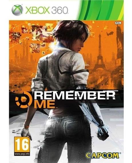 Remember Me Xbox 360 Mídia Física Usado