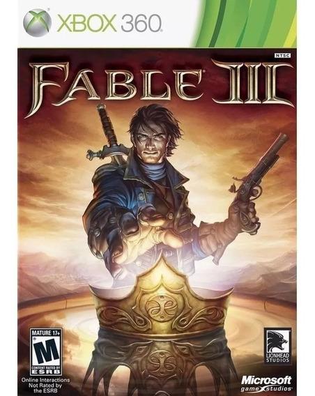 Game Xbox 360 Fable 3 - Original - Novo