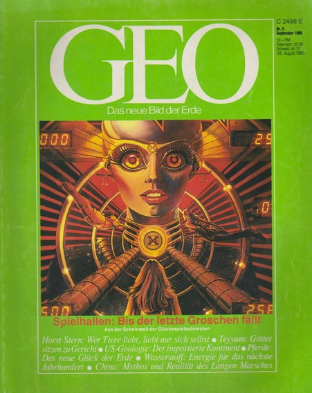 Revista Geo Nr. 9 September 1986 Germany