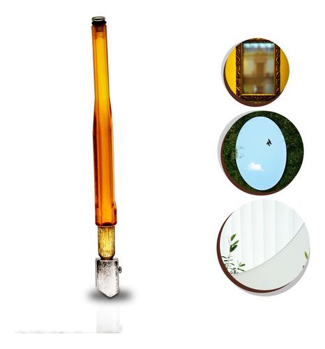Cortador Vidros Garrafa Corta Espelho 16,8cm Fácil Seguro