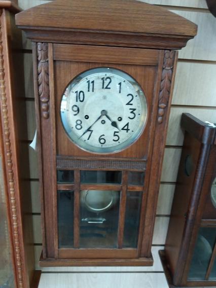 Relógio Antigo Carrilhão De Parede Junghans Toca Westminster