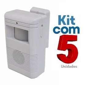 Sensor De Presença Sonoro C/ Excelente Qualidade 5 Unidades