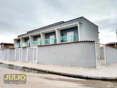 Sobrado,2 Dormitórios Com Suíte, Por R$ 169.900 - Vera Cruz - Mongaguá/sp - Mcmv - So0480