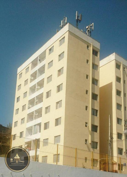 Apartamento Residencial Para Locação, Jardim Sagrado Coração, Jandira. - Ap1156