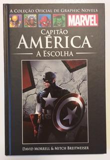 Hq A Coleção Oficial Graphic Novels - Capitão América-vol 55