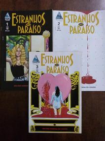 Estranhos No Paraíso - Abril, Via Lettera, Pandora, Hqm 16ed