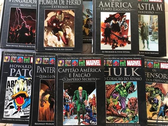 Coleção Graphic Novels Marvel (36 Livros) Só Esta Semana