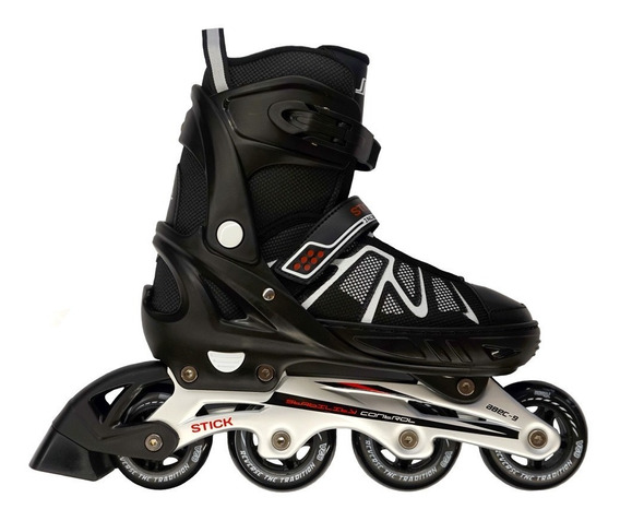 Rollers Profesionales Patines Modelo 160 Marca Stick + Bolso