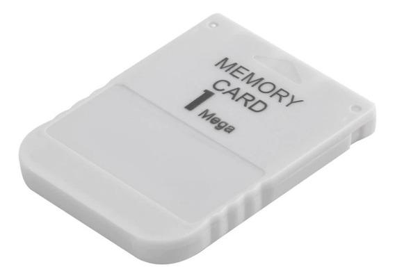 Memory Card 1 Mb Psone Playstation Ps1 Novo