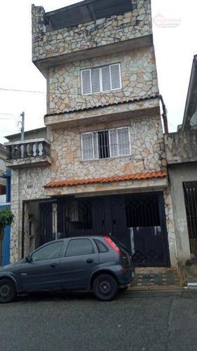 Sobrado Com 5 Dormitórios, 200 M² - Venda Por R$ 700.000 Ou Aluguel Por R$ 3.200/mês - Jardim Das Rosas (zona Leste I) - São Paulo/sp - So1221