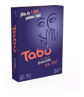 Juego De Mesa Tabu Taboo Hasbro Original - Giro Didactico
