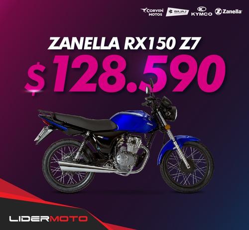 Imagen 1 de 15 de Zanella Rx 150 Z7 Lidermoto La Plata Créditos Personales