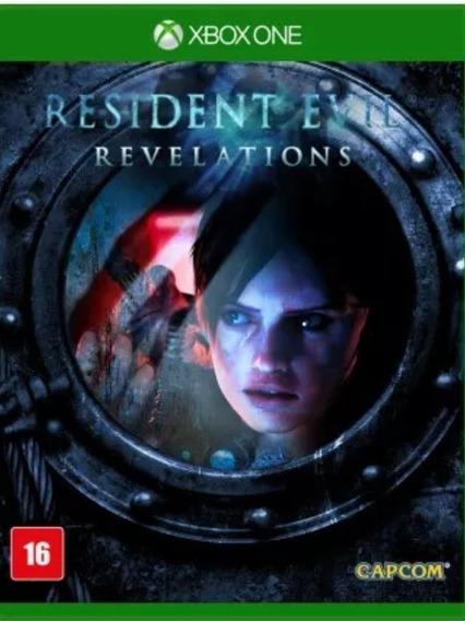 Resident Evil Revelations Xbox One Midia Física Lacrado