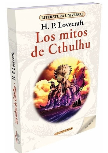 Libro.los Mitos De Cthulhu. H.p. Lovecraft. Clásicos Fontana